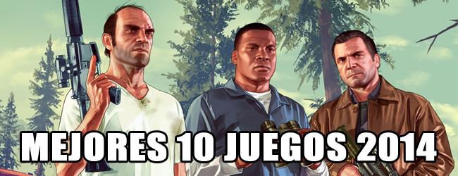 Mejores 10 videojuegos de 2014