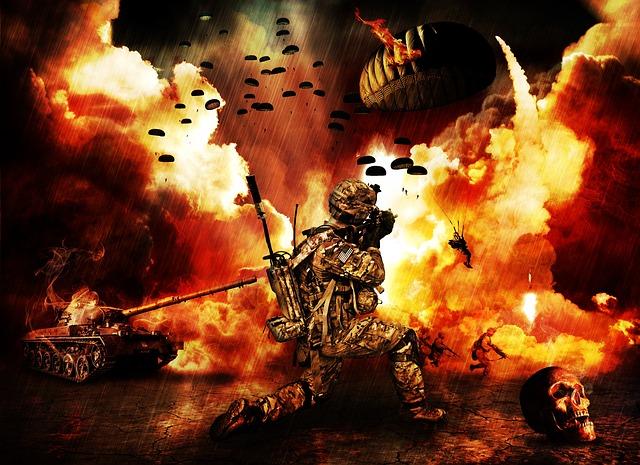 lugar la guerra, la guerra, apocalipsis