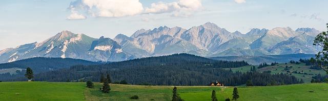 montañas, naturaleza, tatra