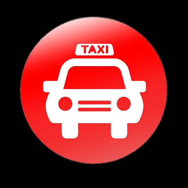 taxi, icono de pc, vector